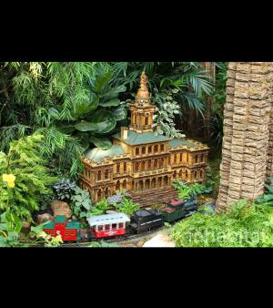 Le petit train du jardin botanique de New York, photo N°5