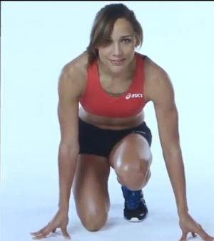 Num�ro 5 : Lolo Jones. Etats-Unis. 100 m haies